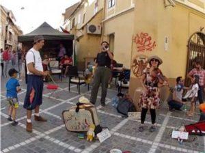 """Începe Festivalul La Strada dell'arte – festivalul cu onorariul artiştilor """"la pălărie"""""""