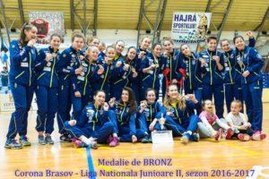 Handbal:  Bronz pentru junioarele de la Corona, în Campionatul Național