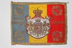 Drapelul Regimentului 8 Călărași Roman - model 1922