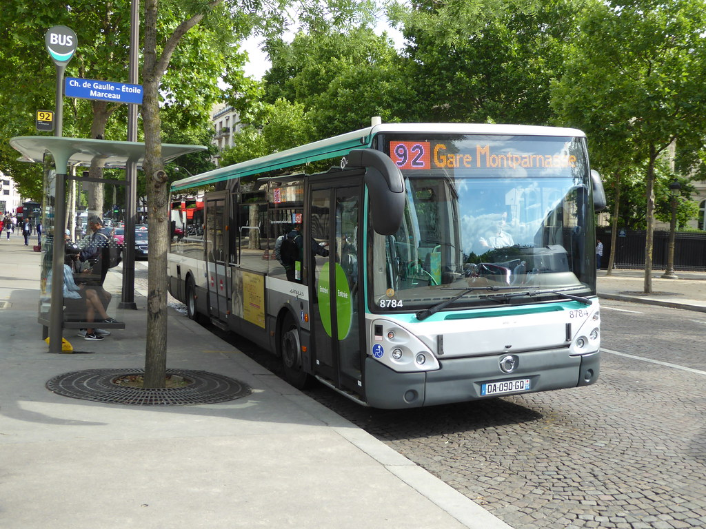 Bus 92 Paris The World S Newest Photos Of 92 And Ratp Flickr Hive Mind