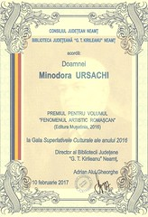diploma Minodora URSACHI