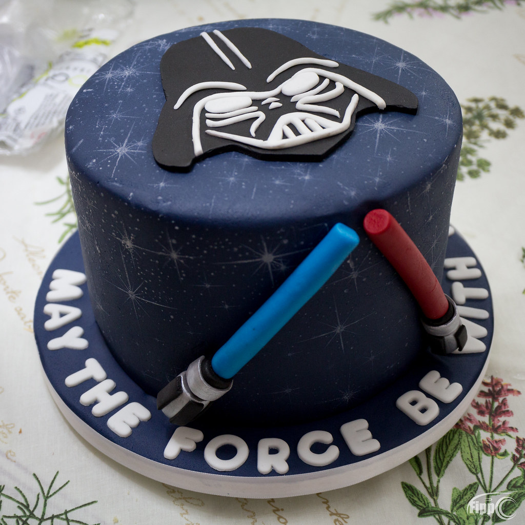 Darth Vader Kuchen The World S Best Photos Of Cake And Vader Flickr Hive Mind