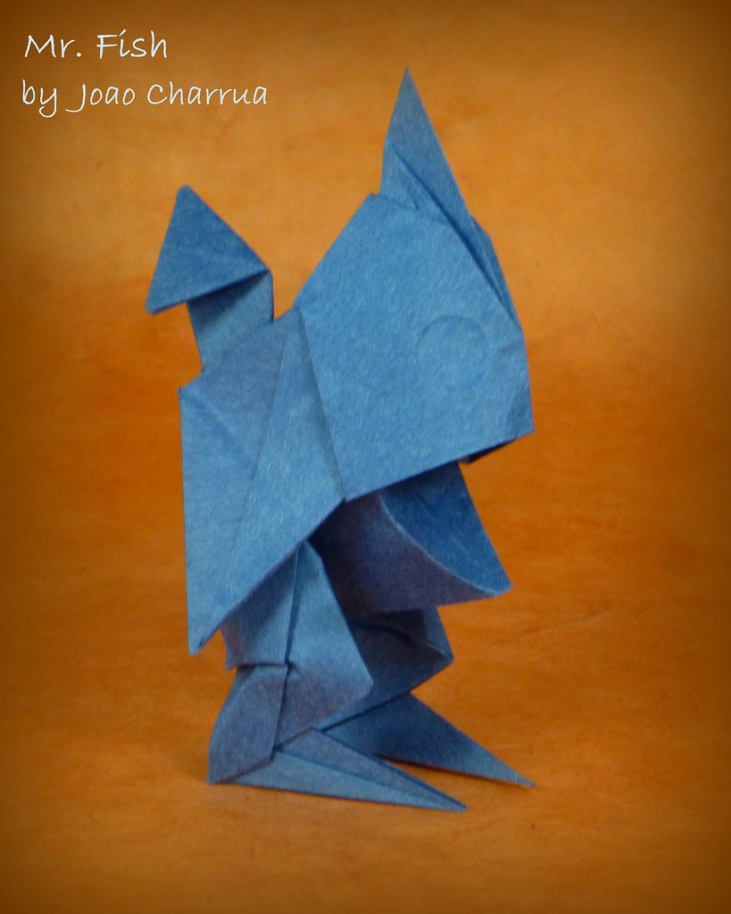 Origami Fisch The World S Newest Photos By Thomas Krapf Origami Flickr Hive Mind