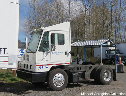 Gardner Trucking Ottawa Yard Spotter, Truck# GT057 - a photo on