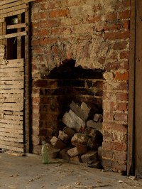 Old brick fireplace | Flickr - Photo Sharing!