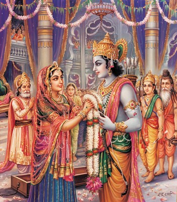 Ravan 3d Wallpaper Sita Swayamvar Check Out My Durga Maa Videos At Www