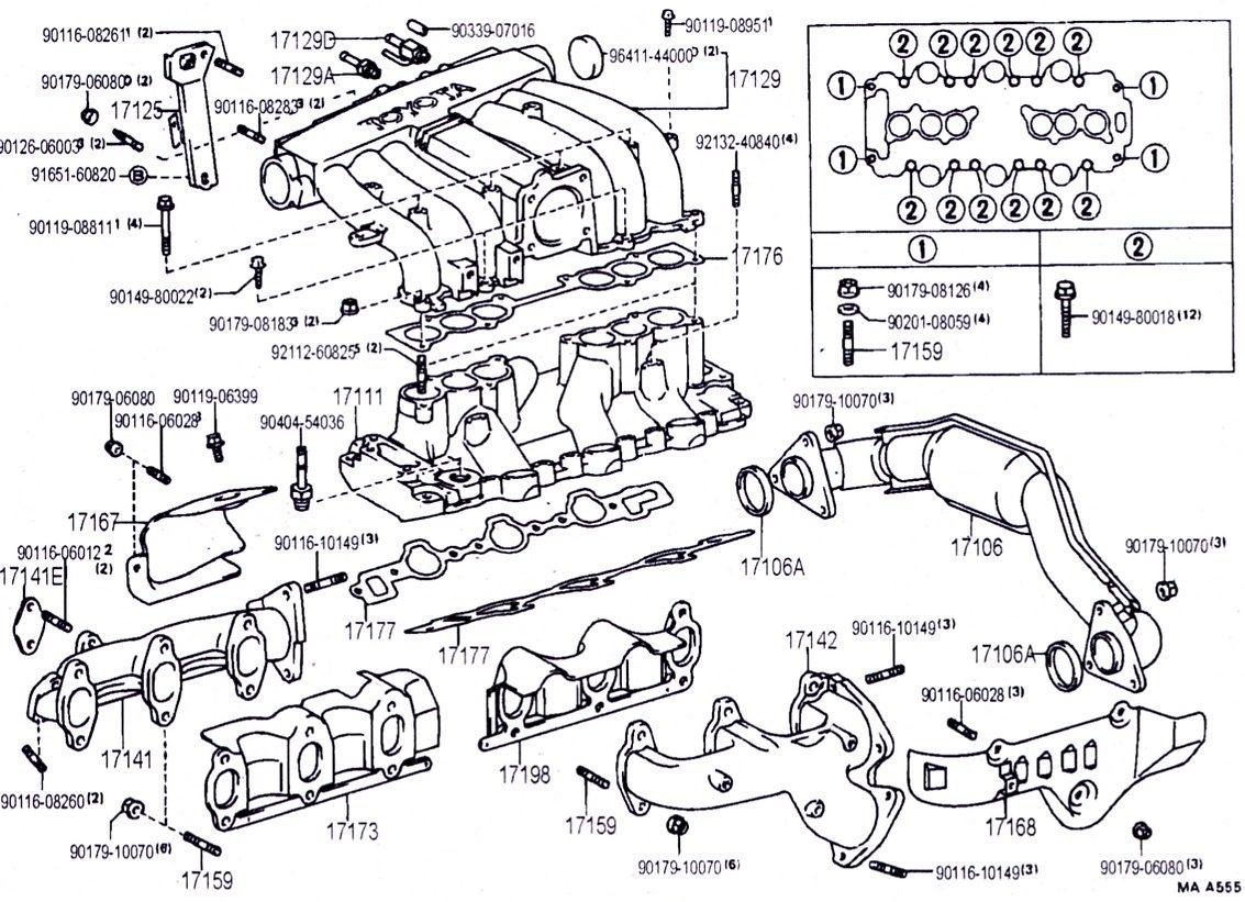 toyota v6 engine diagram