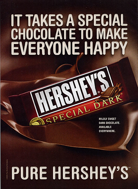 Hershey's Chocolate Bar Ad  Flickr - Photo Sharing!