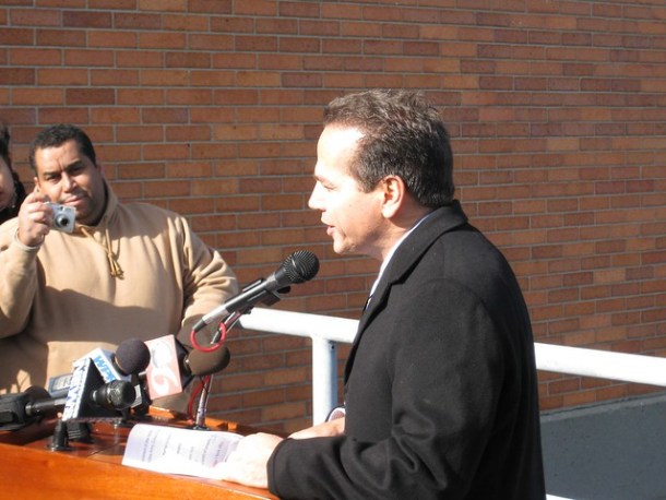 Mayor David Cicilline (D-Providence)