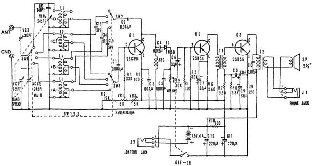 cb radio receiver circuit design large view