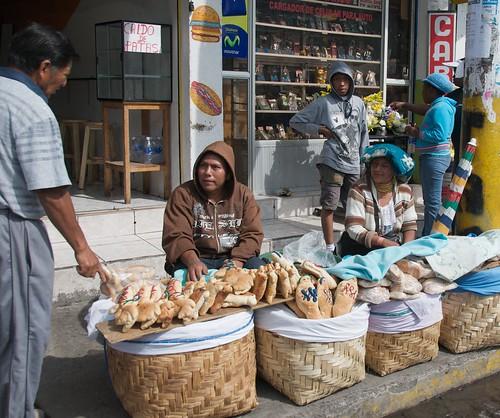 Street Vendors, Ecuador
