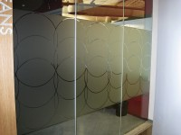 Frosted Glass Vinyl Graphics - Privacy Film | Impact Signs