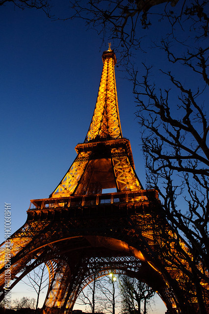 Le Tour Eiffel at Dusk