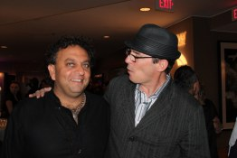 Vikram Vij (Vij's, Rangoli) with Brian Hopkins (West)