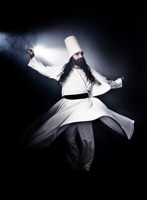 Alone 3d Wallpaper Sufi Dancer Part Of Orphaned Land S Promo Shots