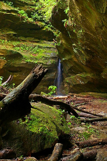 App Screen Hemlock Cliffs Falls, Indiana | Flickr - Photo Sharing!