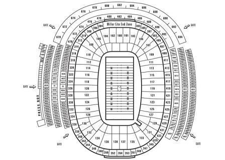 Green Bay Packers seating chart You can sit anywhere at La\u2026 Flickr