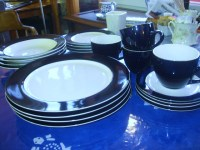 Sears Whole Home dinnerware blueberry | The Living Room ...