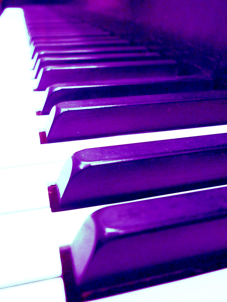 Black White Square Wallpaper Unlikely Color Purple Piano Flickr Photo Sharing