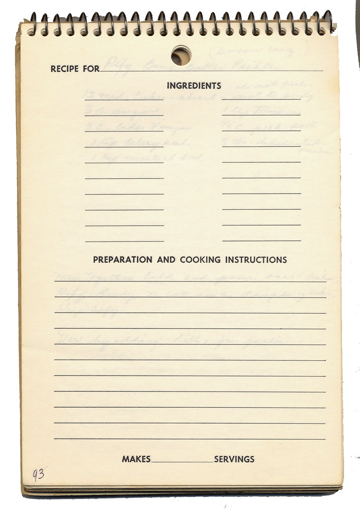 Blank Recipe Template Amazing Blank Recipe Template Examples In Pdf