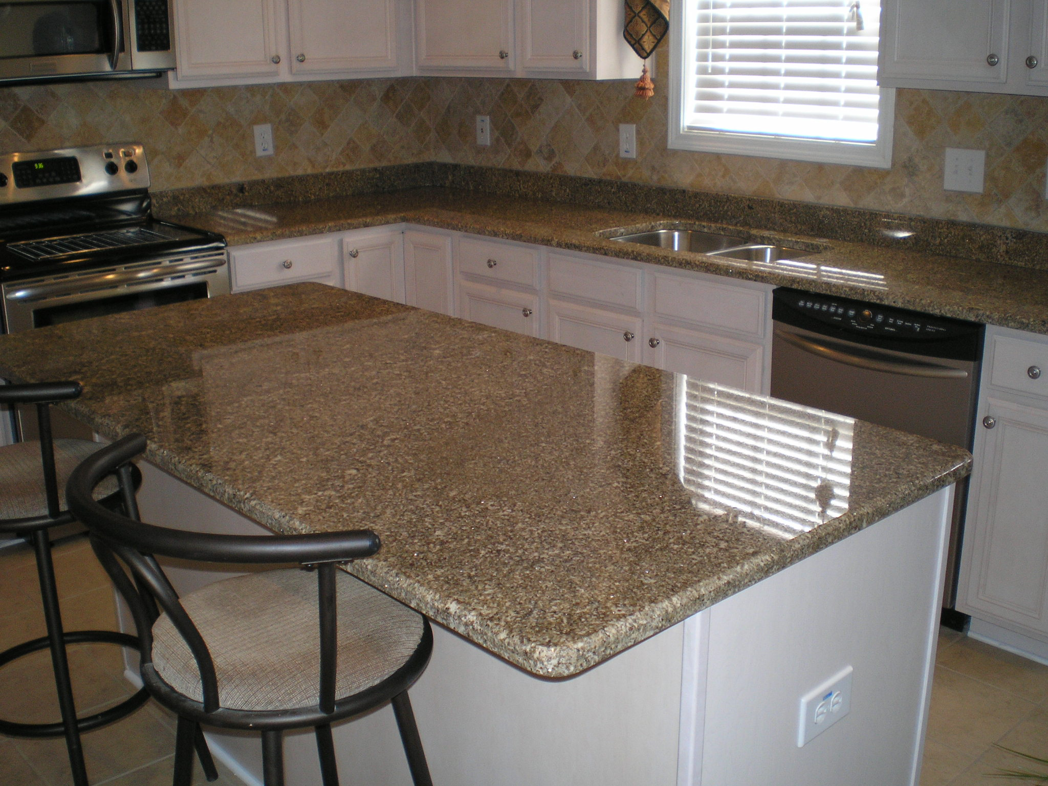 Silk Stone Countertops Star Beach Granite Installed In Sc Flickr Photo Sharing