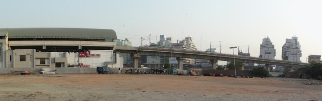 Subash Place Metro Station