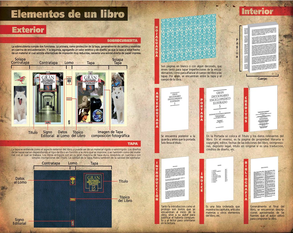 Partes Del Libro Taller 3 B Partes Del Libro Flickr Photo Sharing