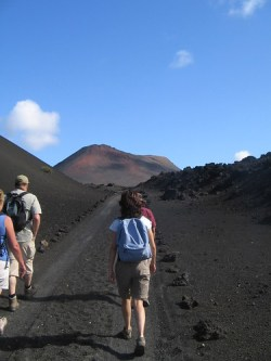 Guided walk, Timanfaya National Park, Lanzarote