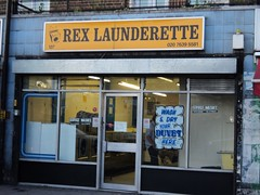 Rex Launderette, Peckham High St, SE15