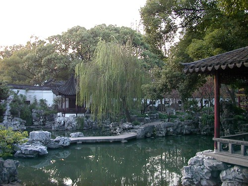 Chinese Garden in Shanghai