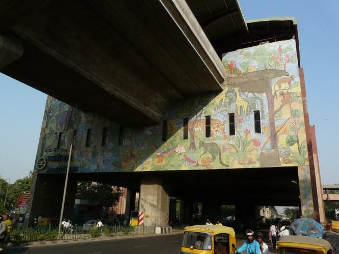 Shastri Nagar Metro Station