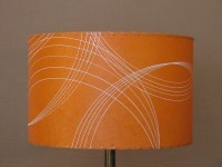 orange drum lamp shade | Flickr - Photo Sharing!