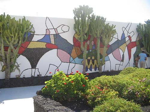 Manrique mural, Jameos del Agua