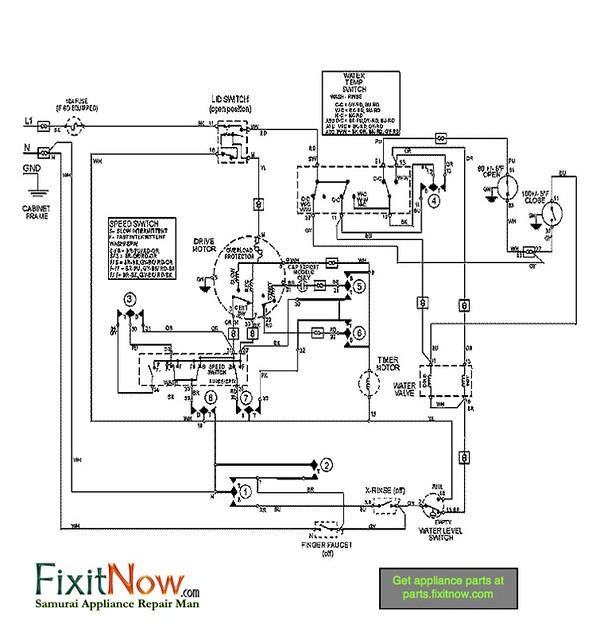 maytag washer mavt834 wiring diagram flickr photo sharing