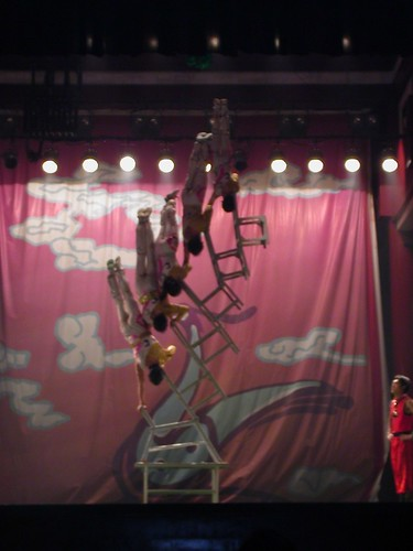 Chinese acrobats in Xi'an