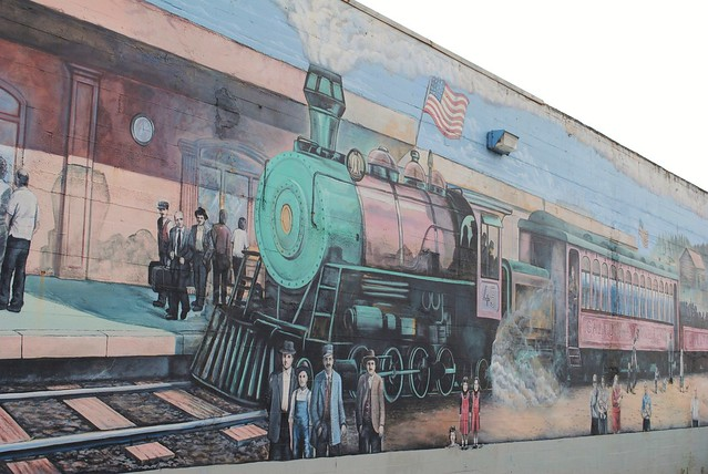 Rail Mural Train Mural | Flickr - Photo Sharing!