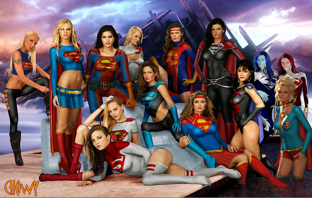 Dc Comics Power Girl Wallpaper Supergirl A Gallery On Flickr