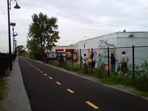 Metropolitan Branch Trail Mural at Hondo Coffee Roasters