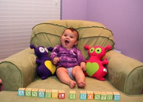 Oh hi! I'm six months old!