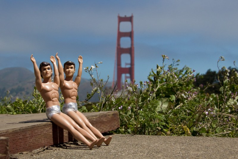 Ken & Ken by the Golden Gate Bridge