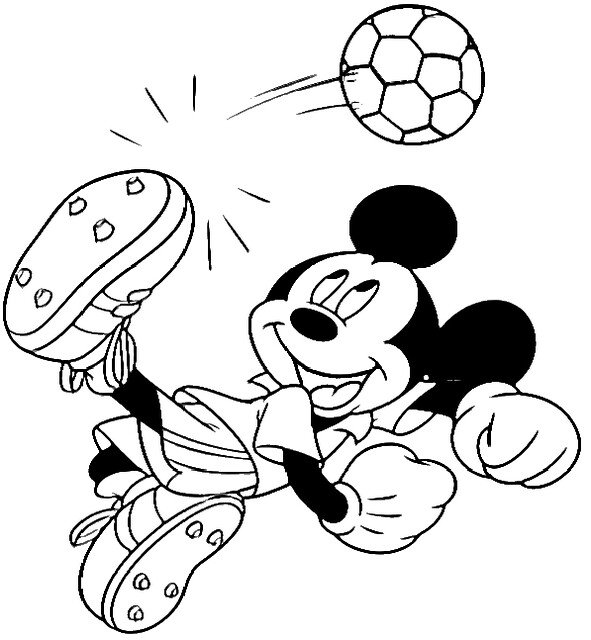 mickey mouse basketball coloring page Coloring Pages(Trishau0027s - best of coloring pages for mickey and minnie mouse