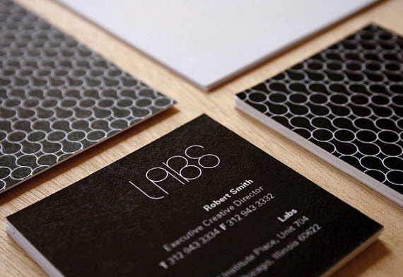 Fresh Hot Inspiration | 60 Stunningly Beautiful Minimal Business Cards