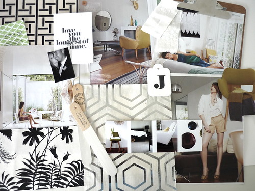 BYW moodboard for Olive & Joy