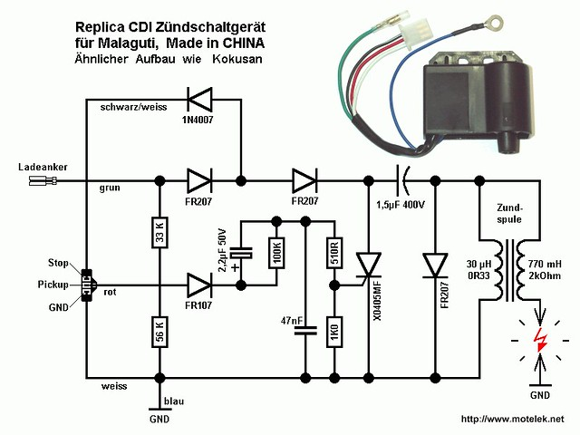 ducati ignition module wiring diagram