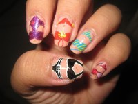 Cute Spring Break Nails | nail art swimsuit for spring ...