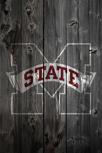 Mississippi State Wallpaper Iphone Mississippi State Bulldogs Wood Iphone 4 Background A