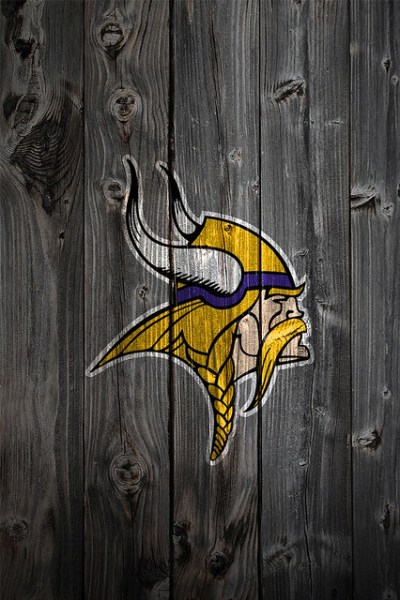 Minnesota Vikings Wood iPhone 4 Background | Flickr - Photo Sharing!