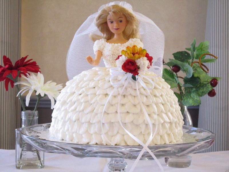 Gina's bride cake