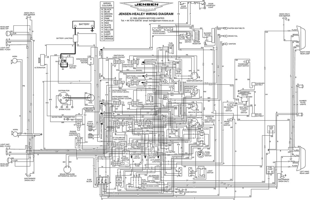 jensen head unit wiring diagram