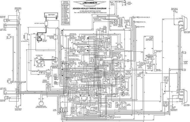 wiring diagram jensen healey